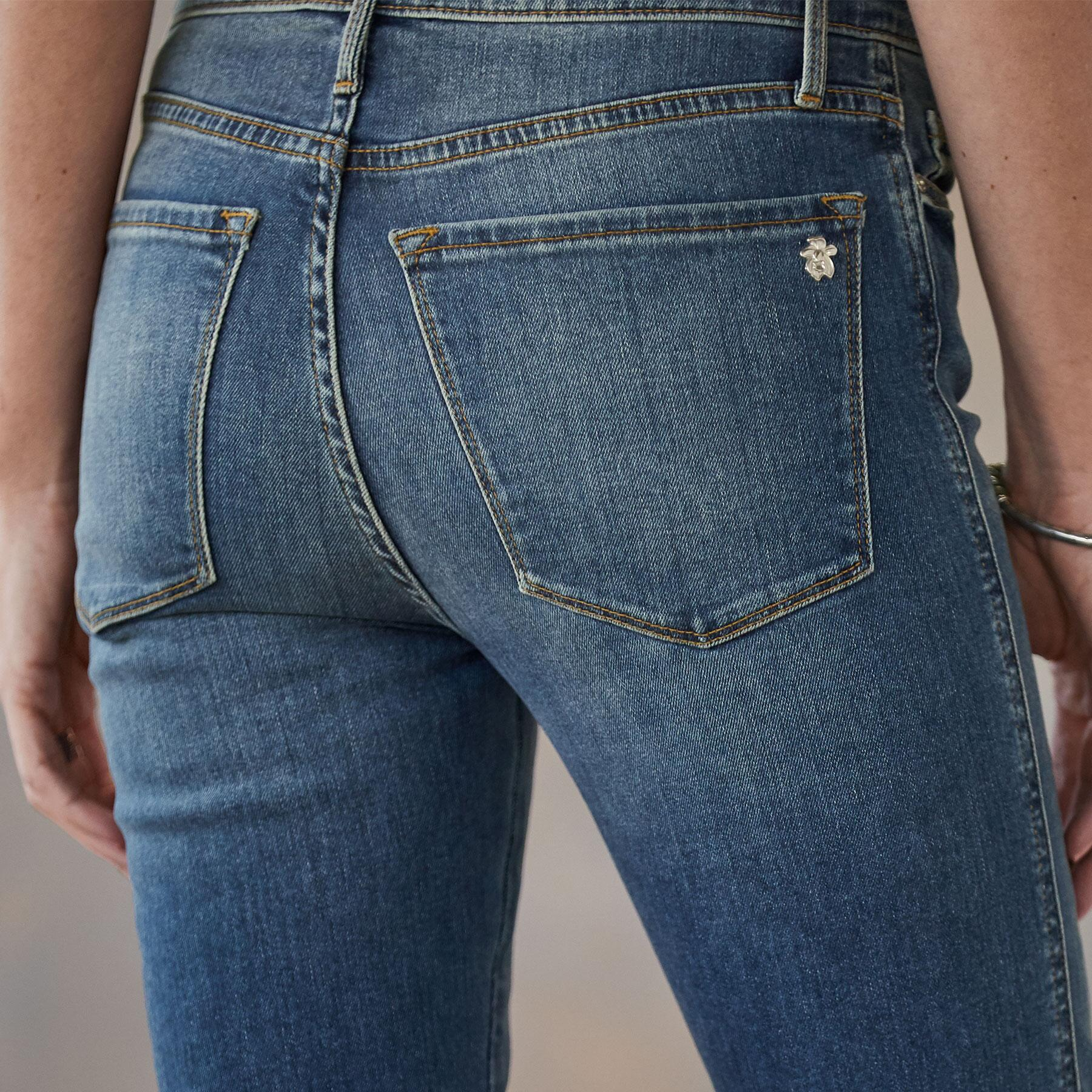 HAILEY AMERICANO CUFFED JEANS: View 3