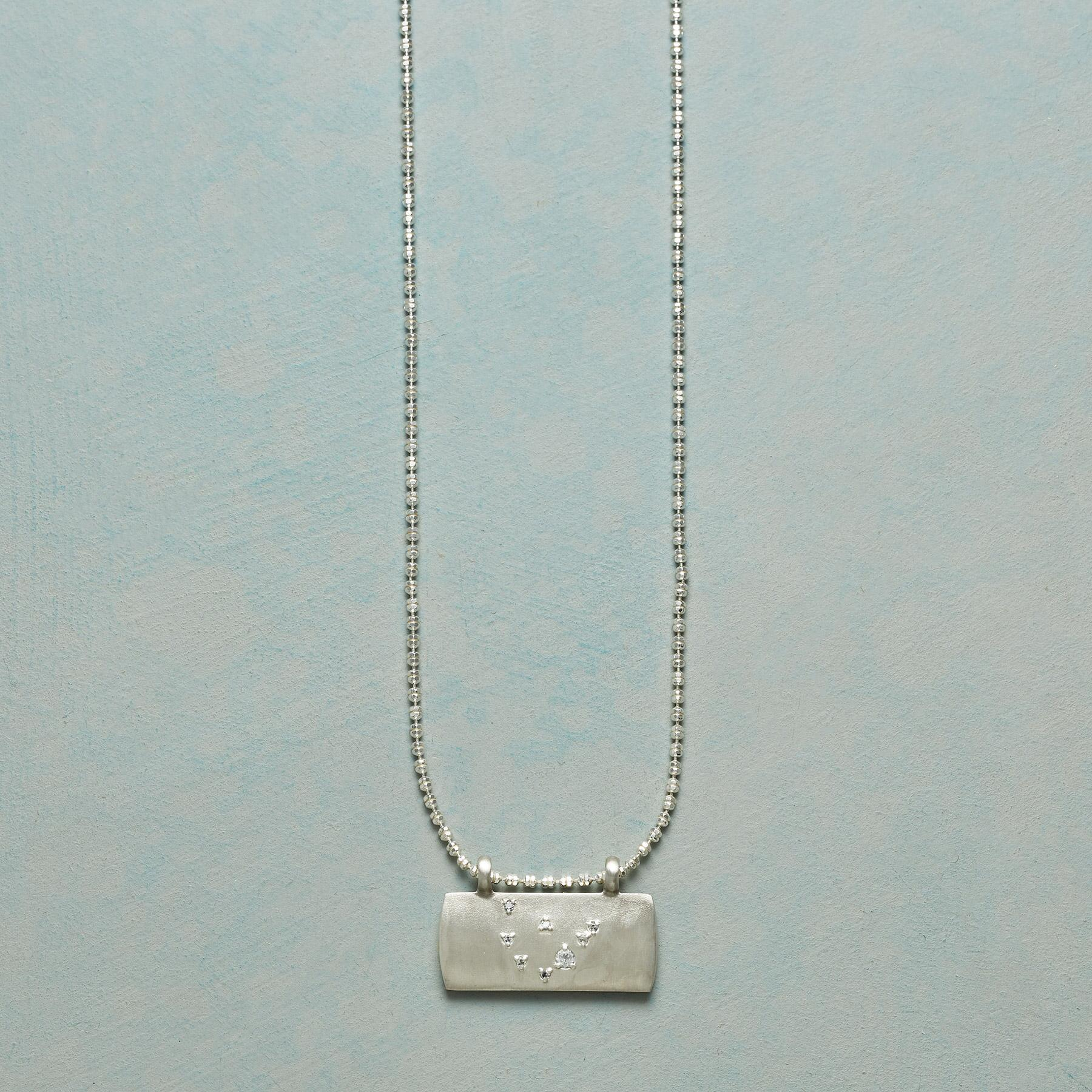 STERLING SILVER ASTROLOGICAL PENDANT NECKLACE: View 1