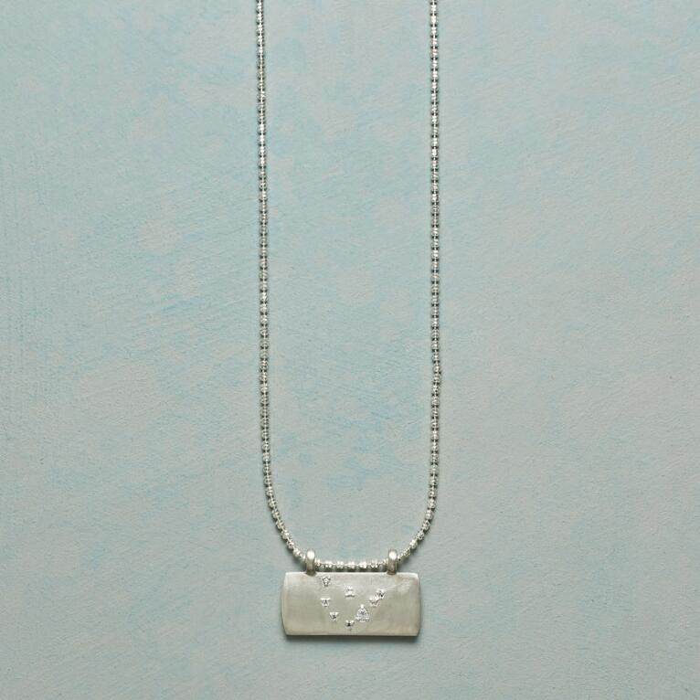 STERLING SILVER ASTROLOGICAL PENDANT NECKLACE