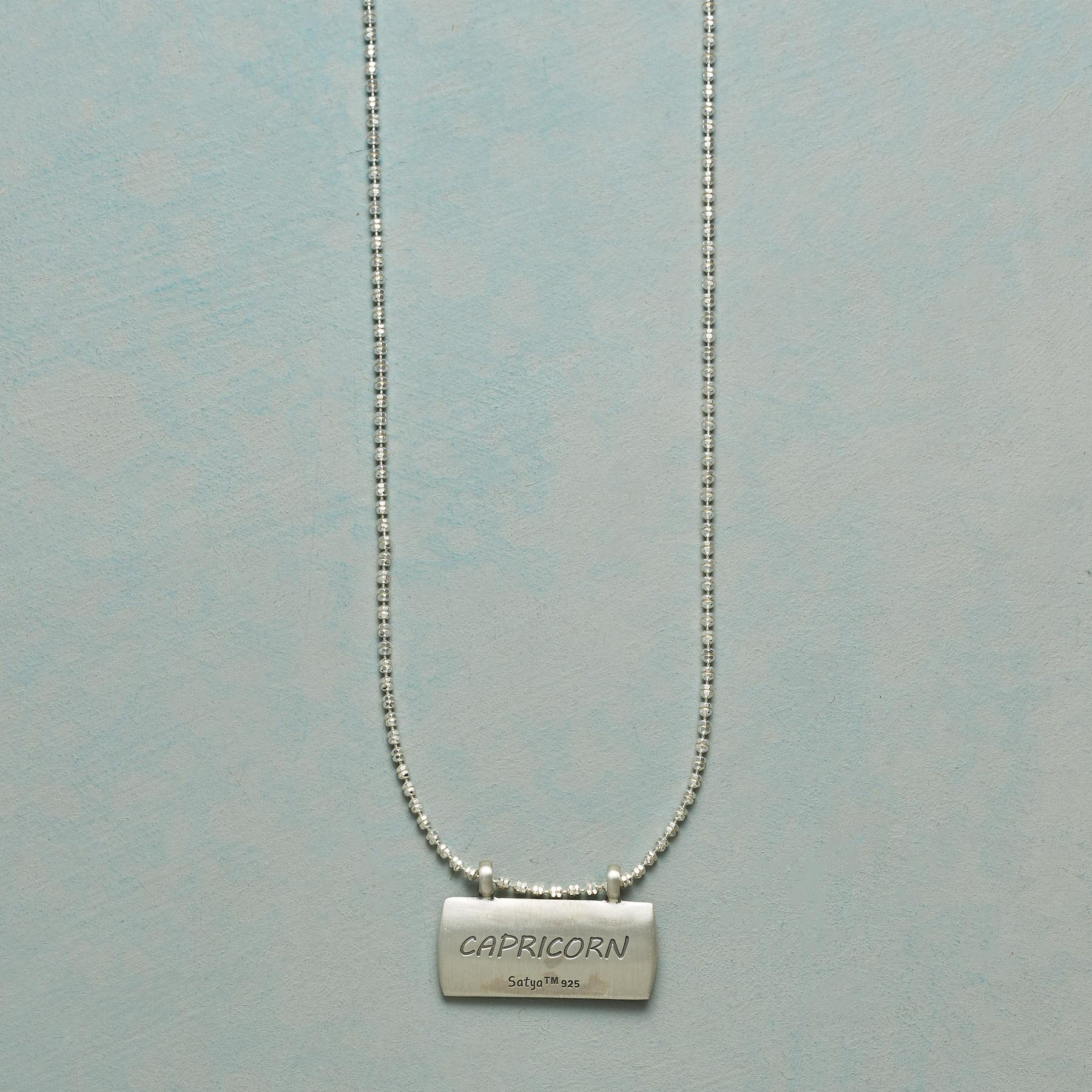 STERLING SILVER ASTROLOGICAL PENDANT NECKLACE: View 3