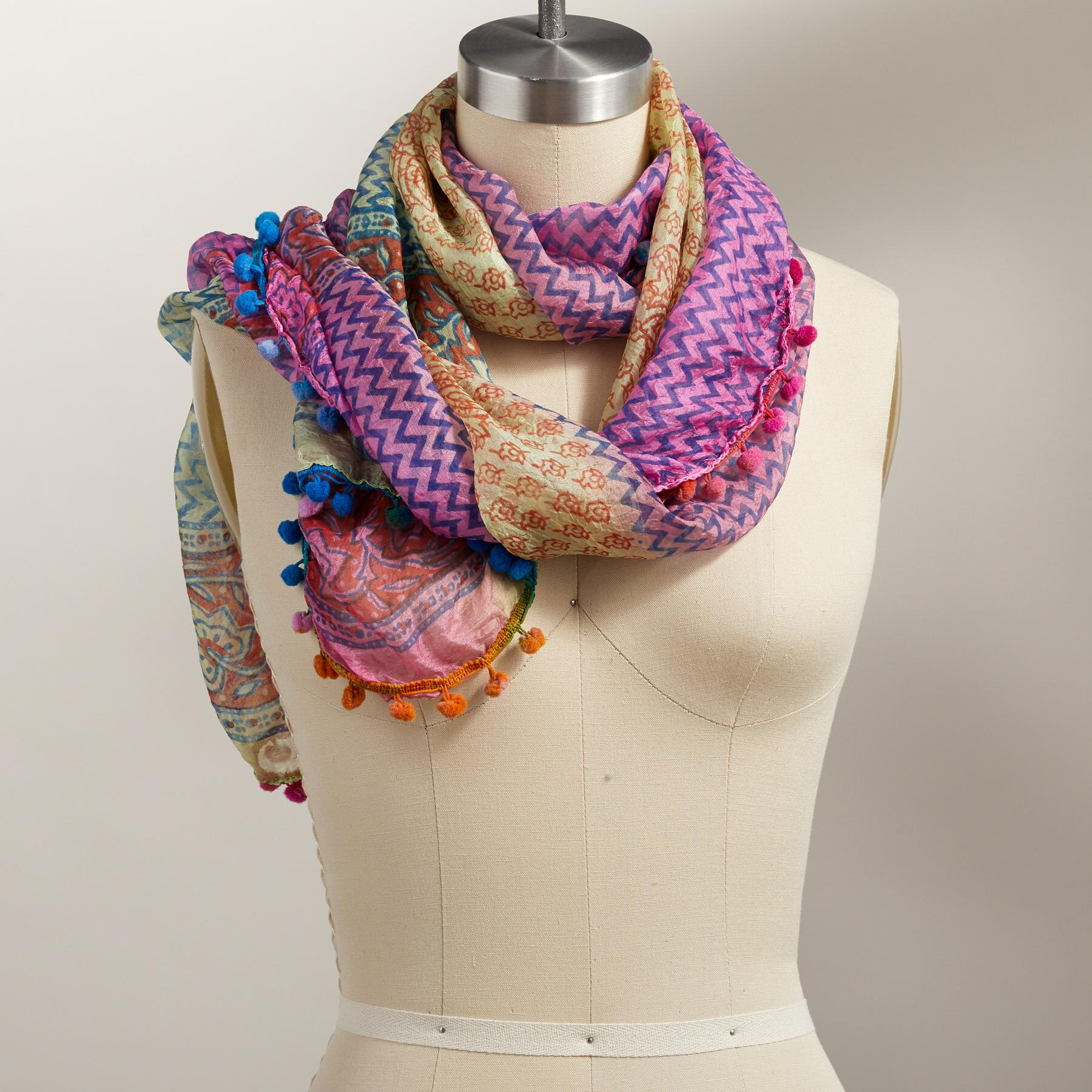 PAINTED DAYDREAMS SCARF: View 1