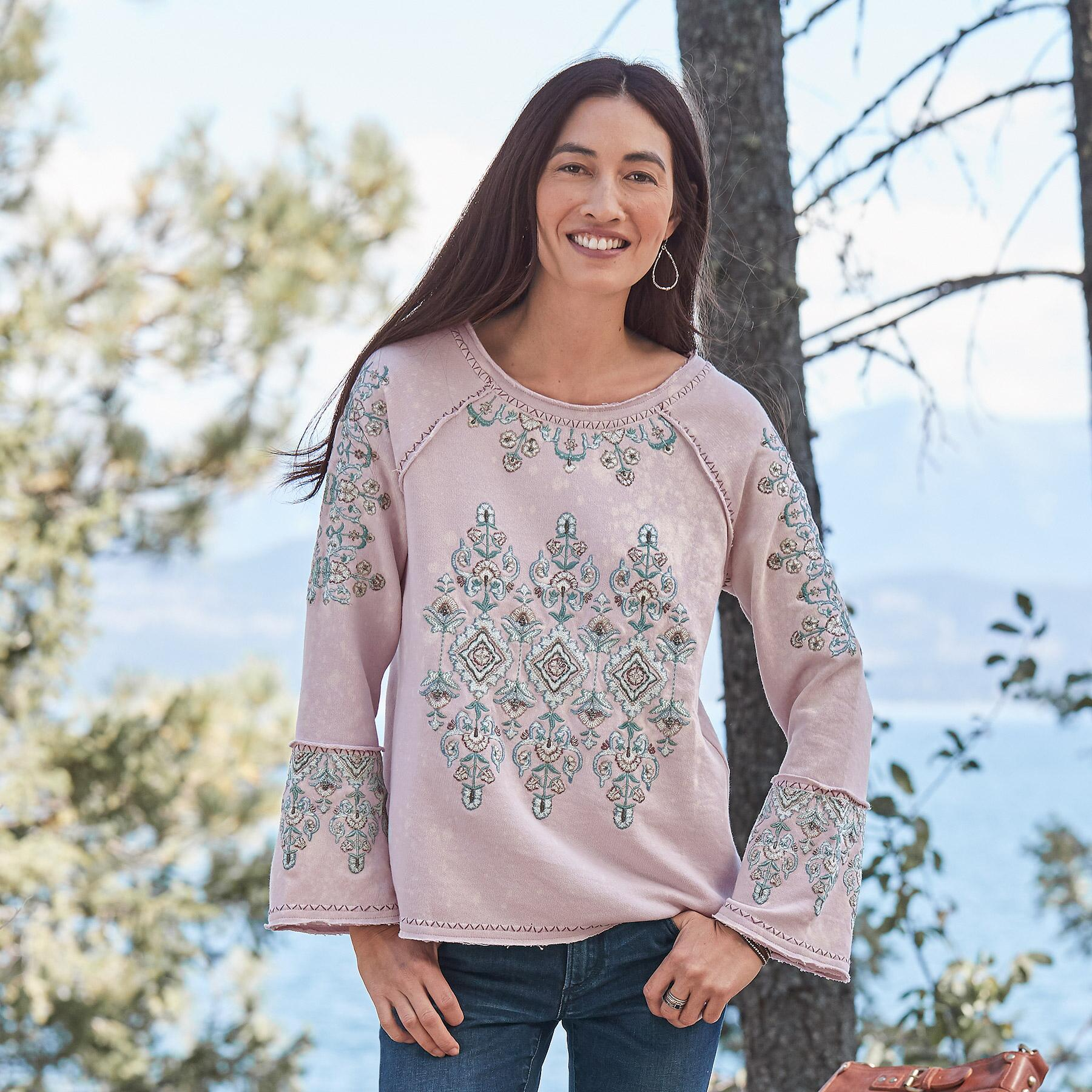 ZINNIA SWEATSHIRT: View 1