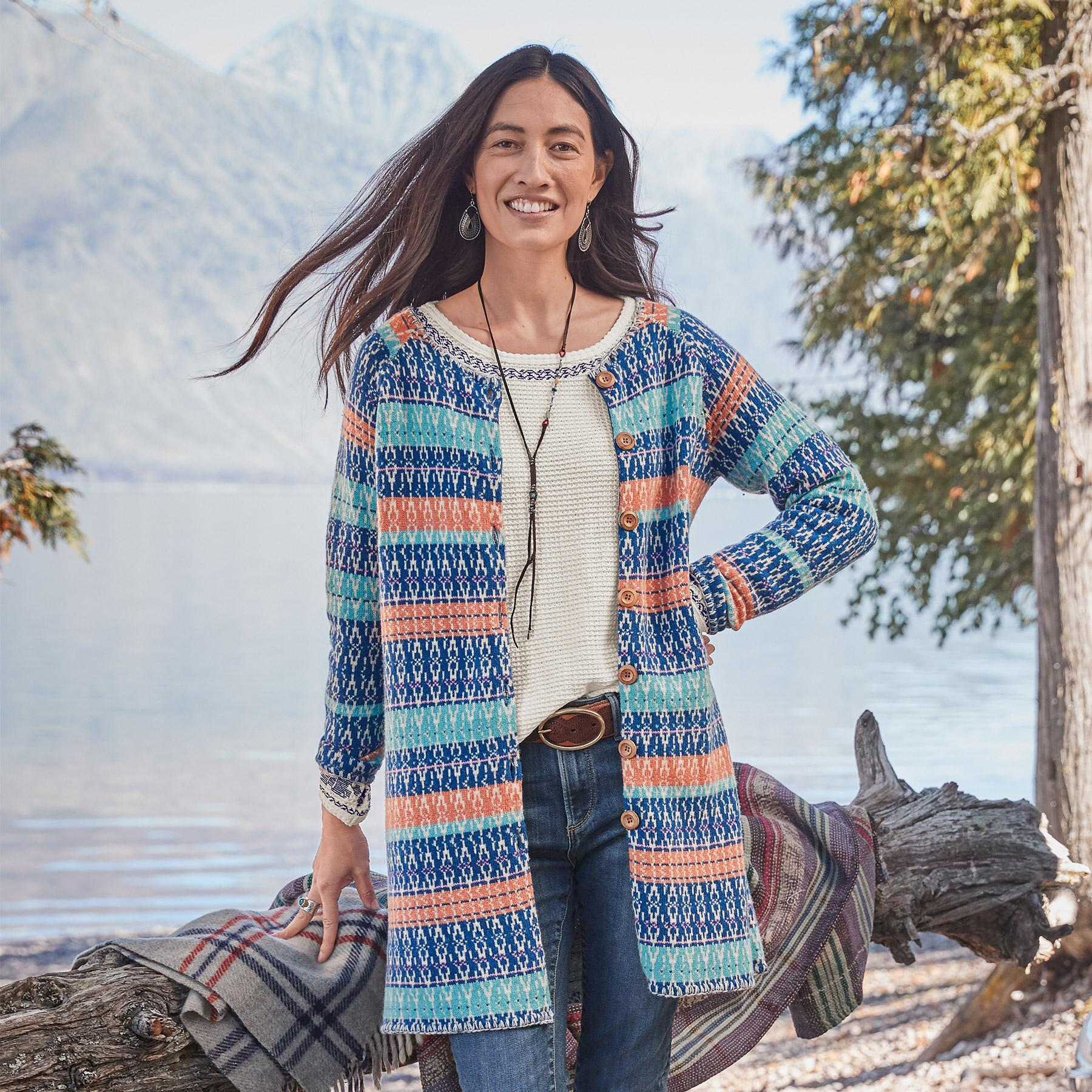 SHORELINE CARDIGAN: View 2
