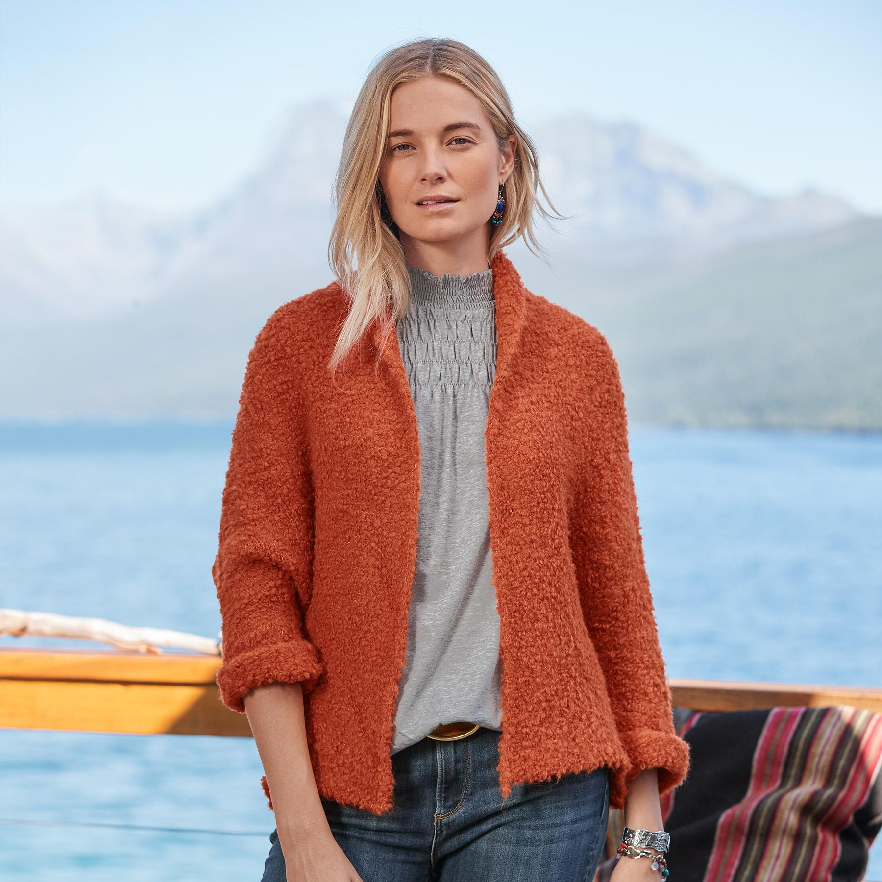 LAUREL BREEZE CARDIGAN: View 2