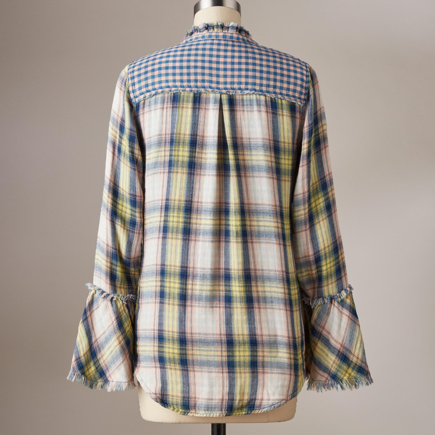 MACEY PLAID SHIRT: View 3