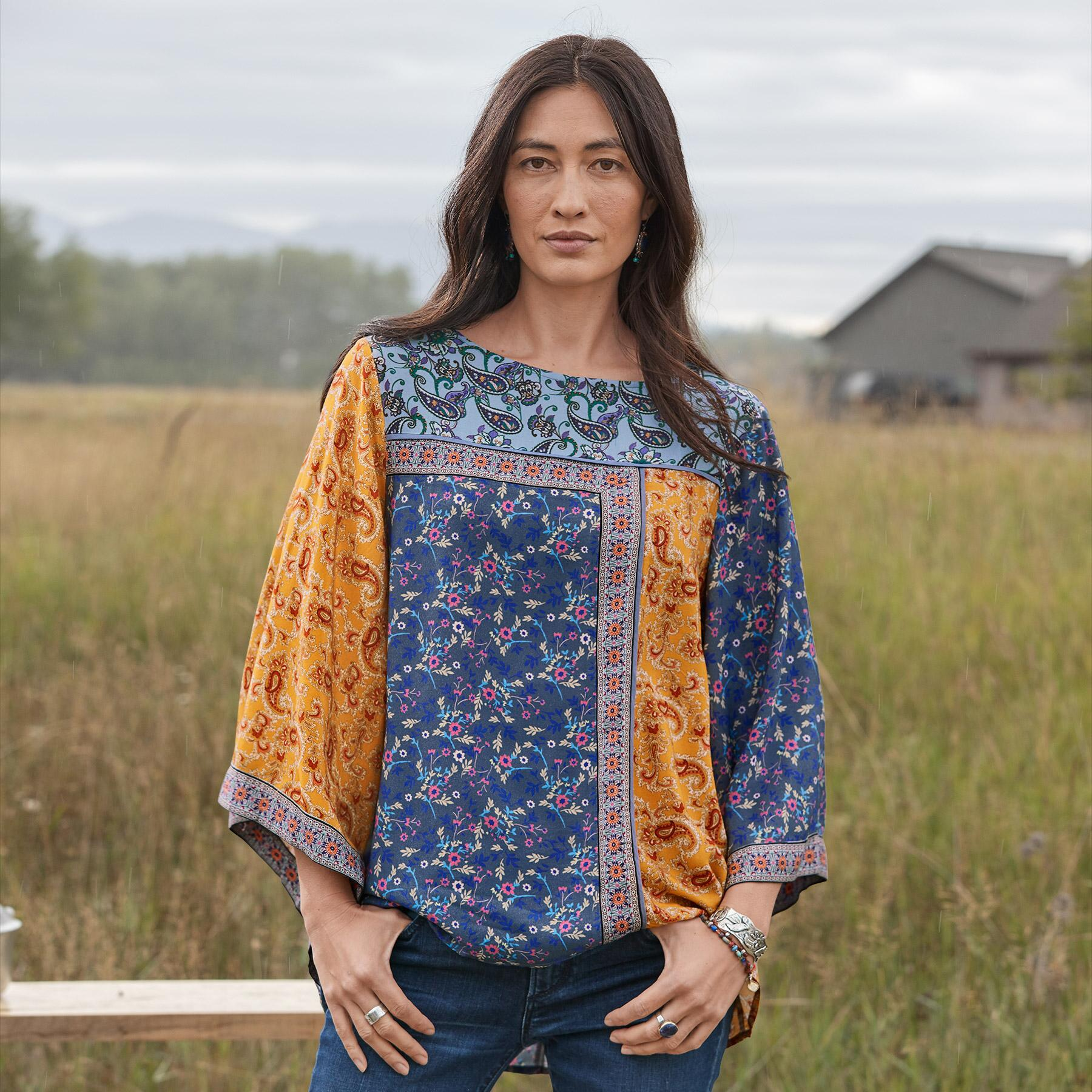 FLORAL MEDLEY TOP: View 2