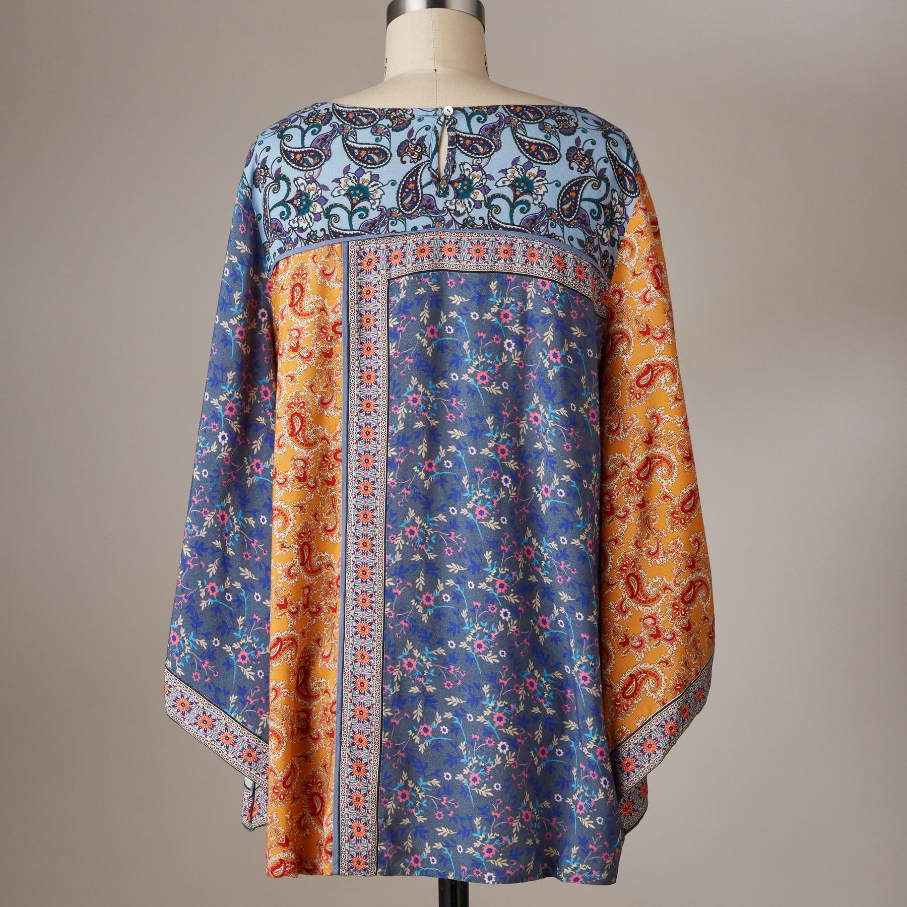 FLORAL MEDLEY TOP: View 3