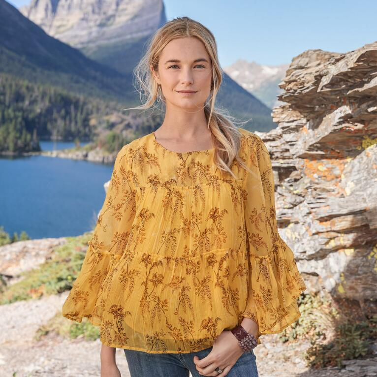 CLIFFSIDE BLOOM TOP