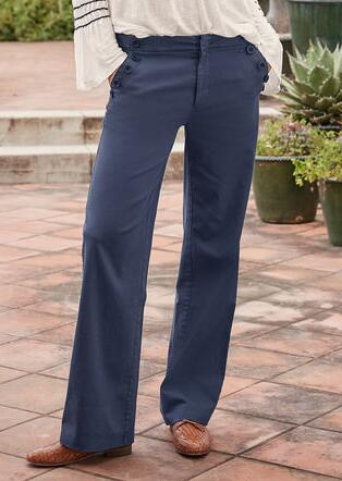 COASTAL COVE PANTS - PETITES