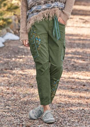 WILLOW CARGO PANTS - PETITES