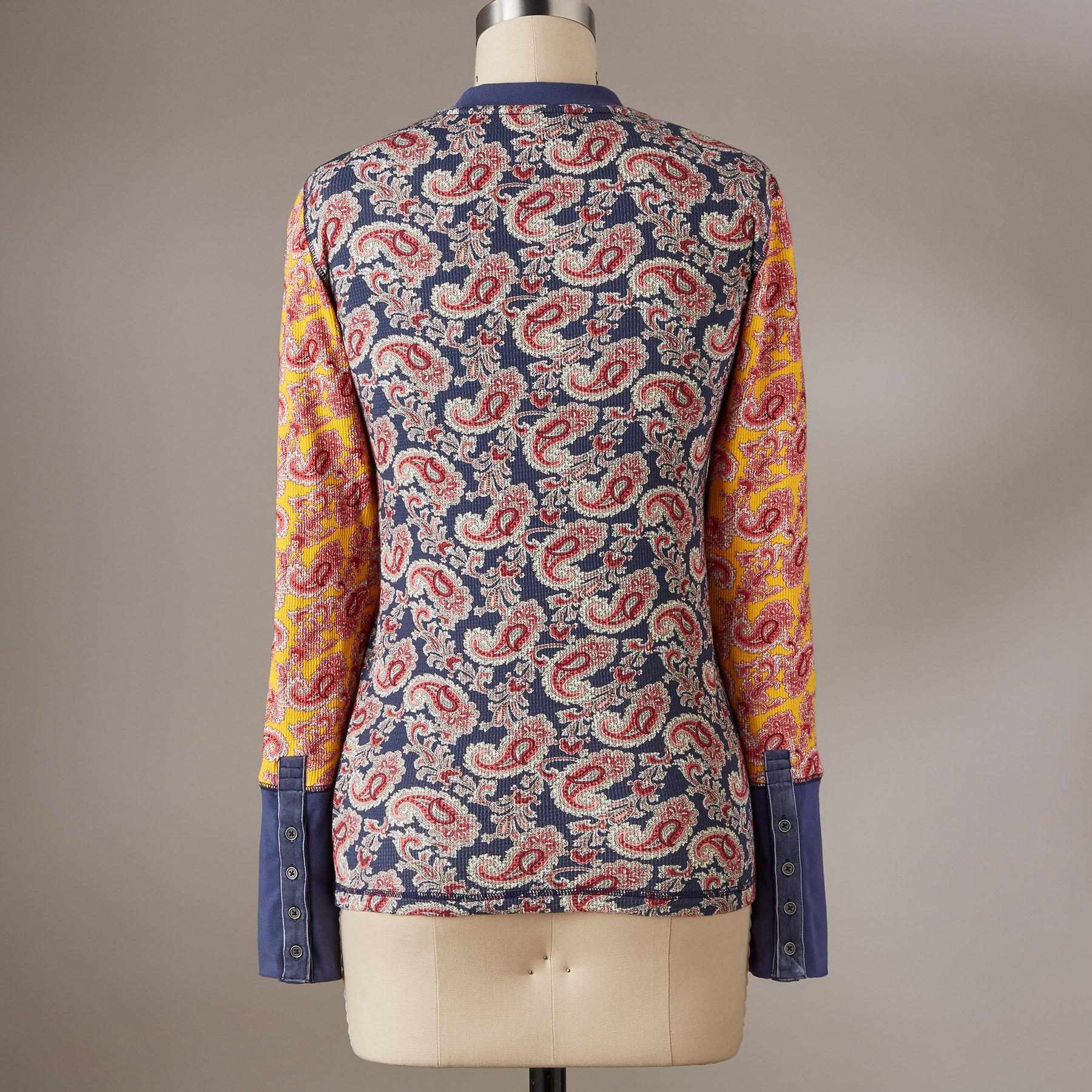 PURE PAISLEY THERMAL - PETITES: View 3