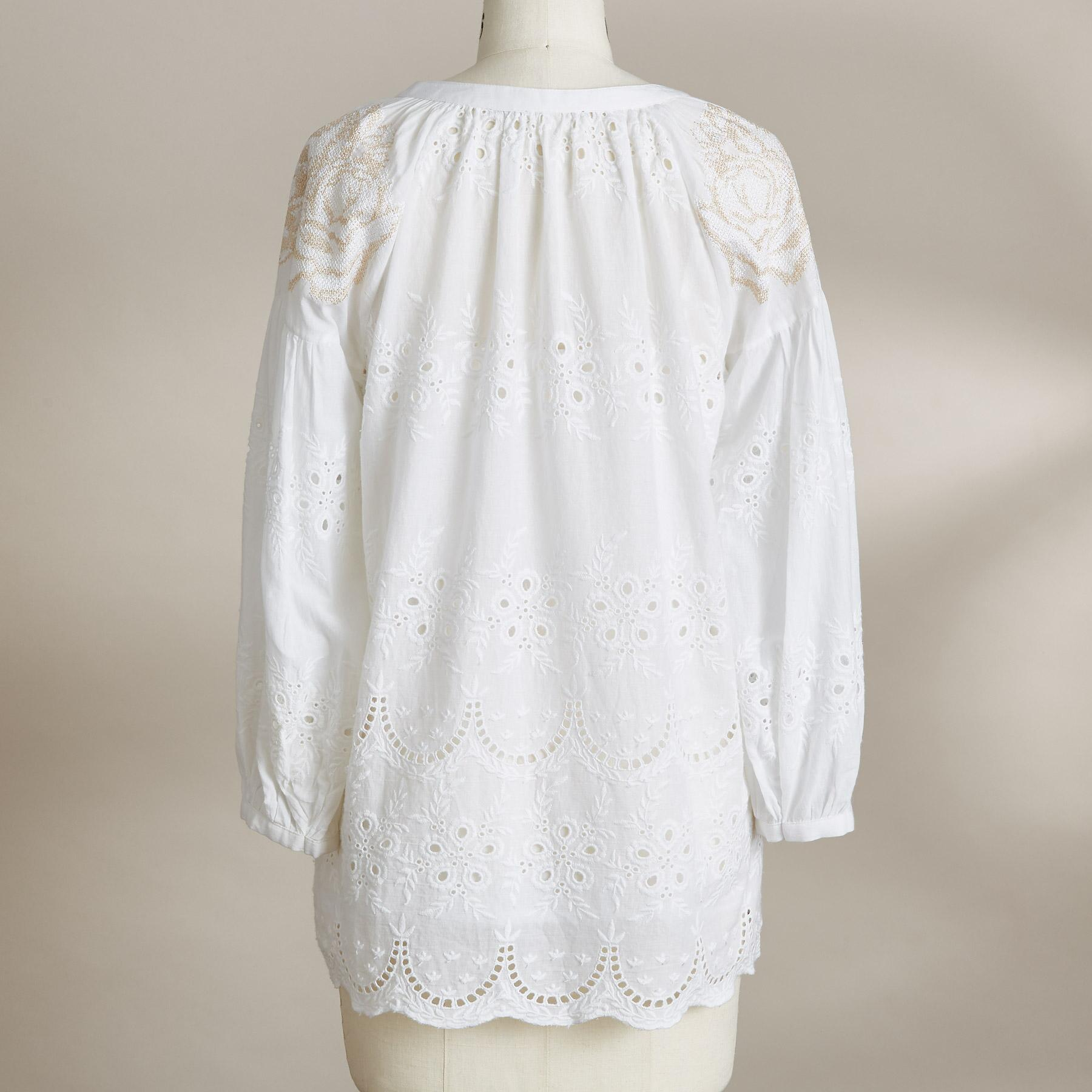 EYELET TO PERFECTION TOP: View 3