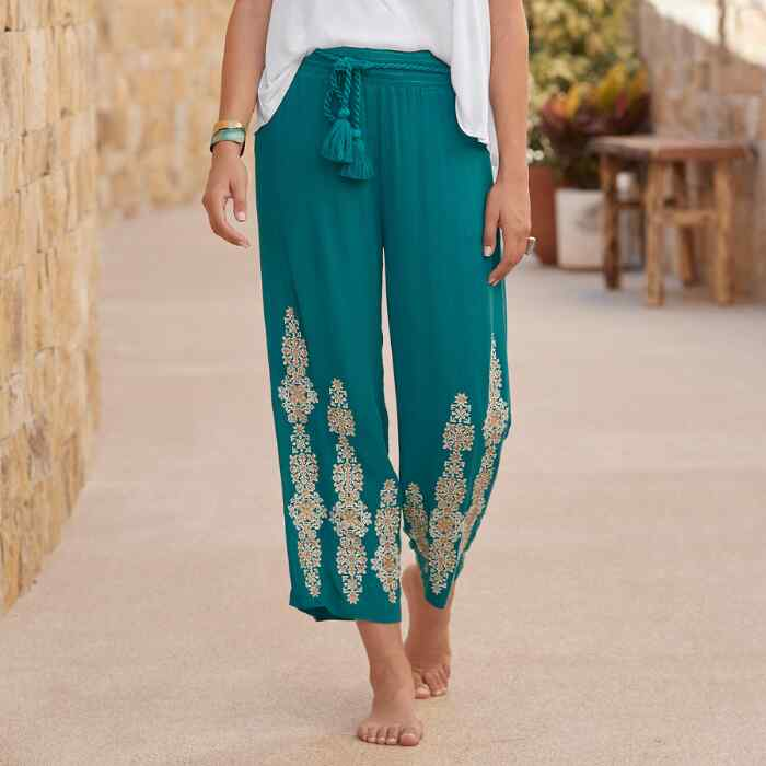 SPICE ROUTE PANTS
