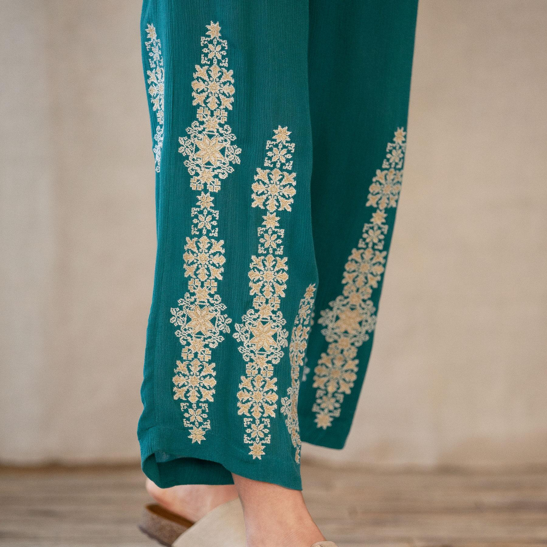 SPICE ROUTE PANTS: View 5