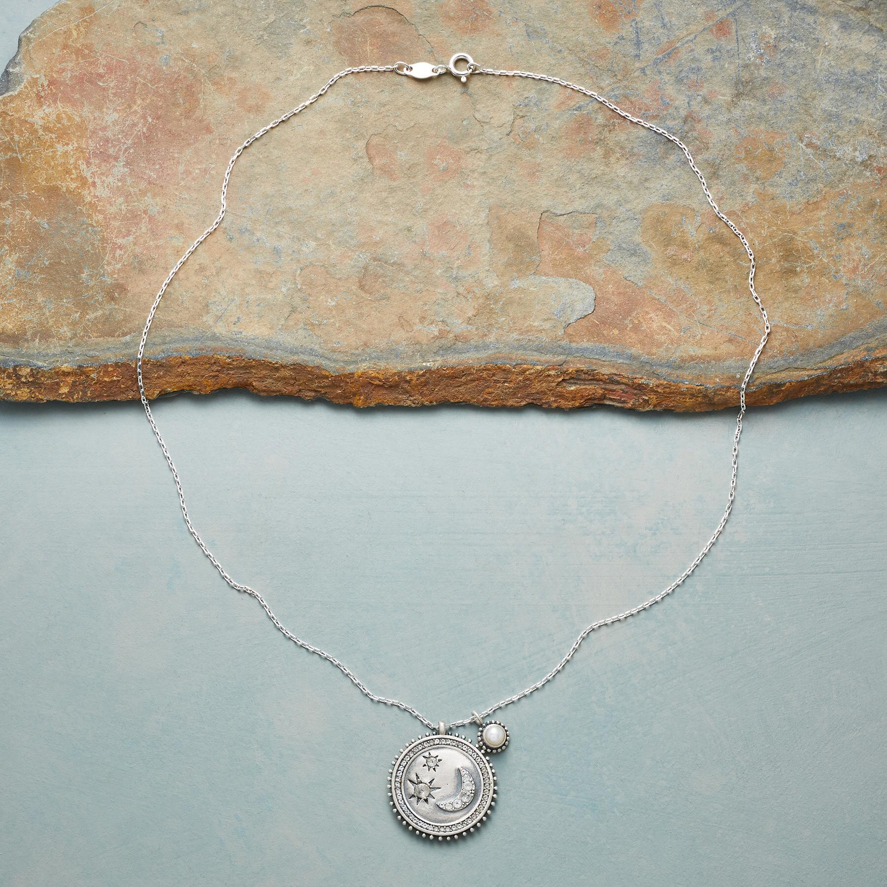 MY MOON AND STARS SILVER NECKLACE: View 2