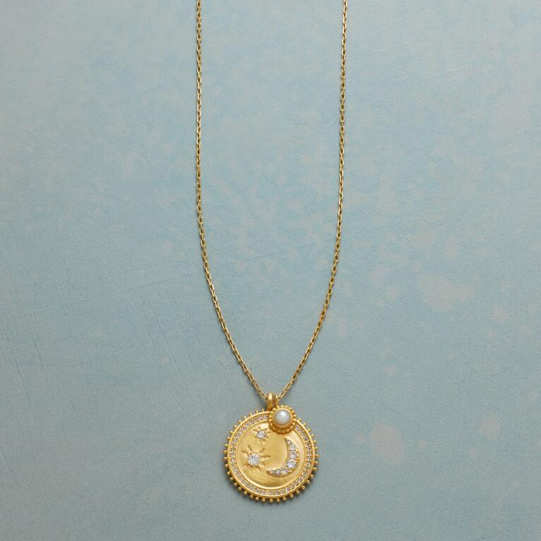 MY MOON AND STARS GOLD NECKLACE