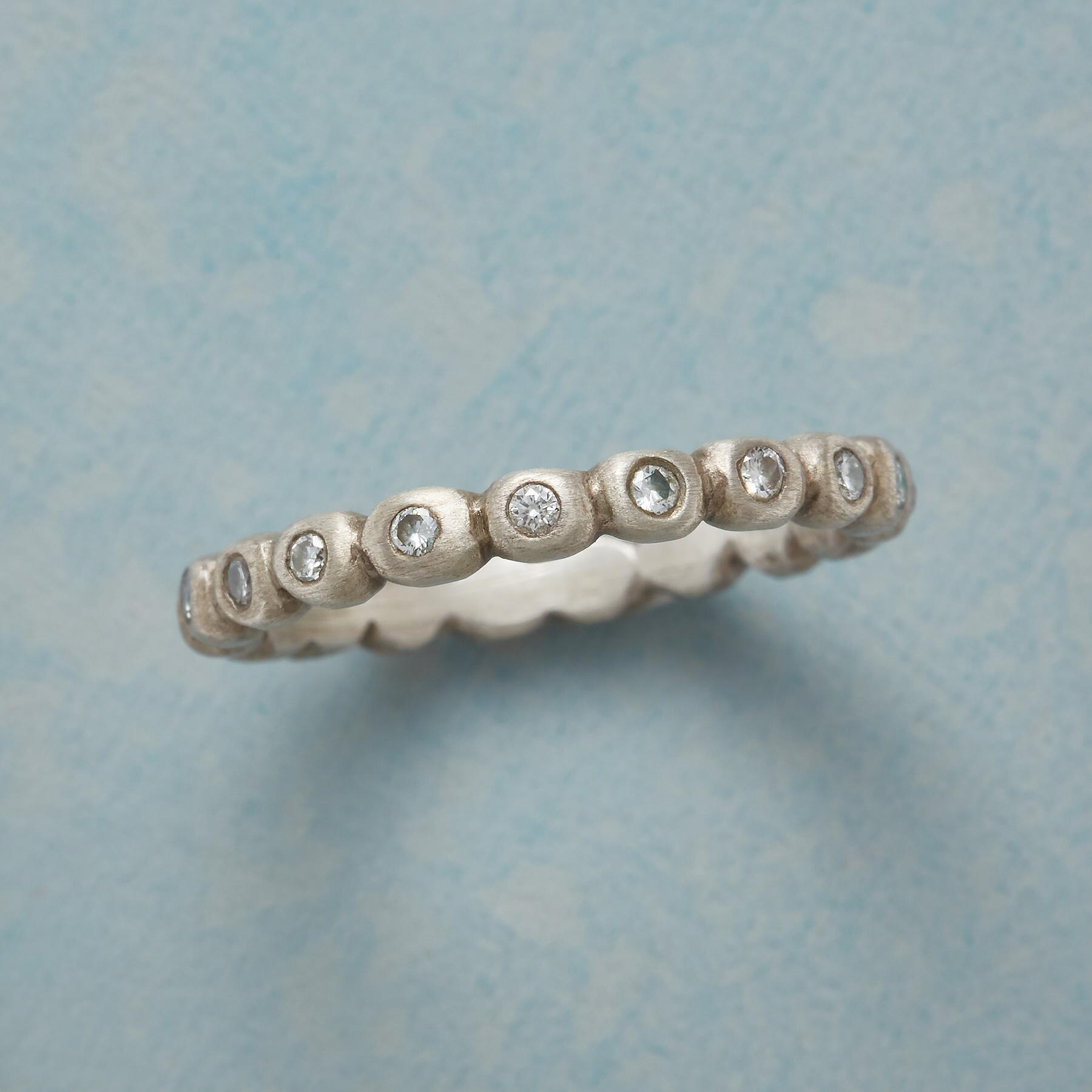 ENCIRCLED DIAMOND RING: View 1