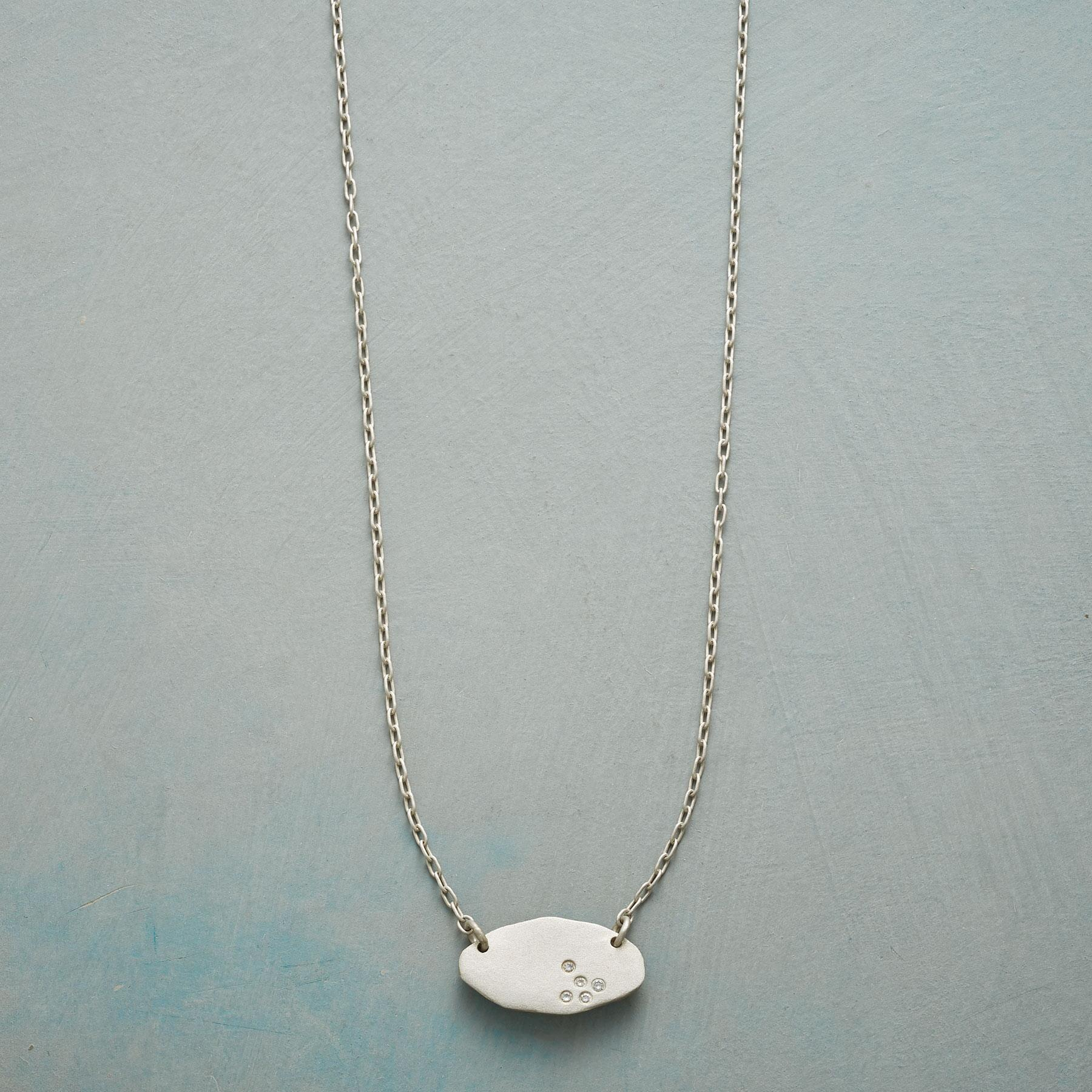 MODERN DIAMOND NECKLACE: View 1