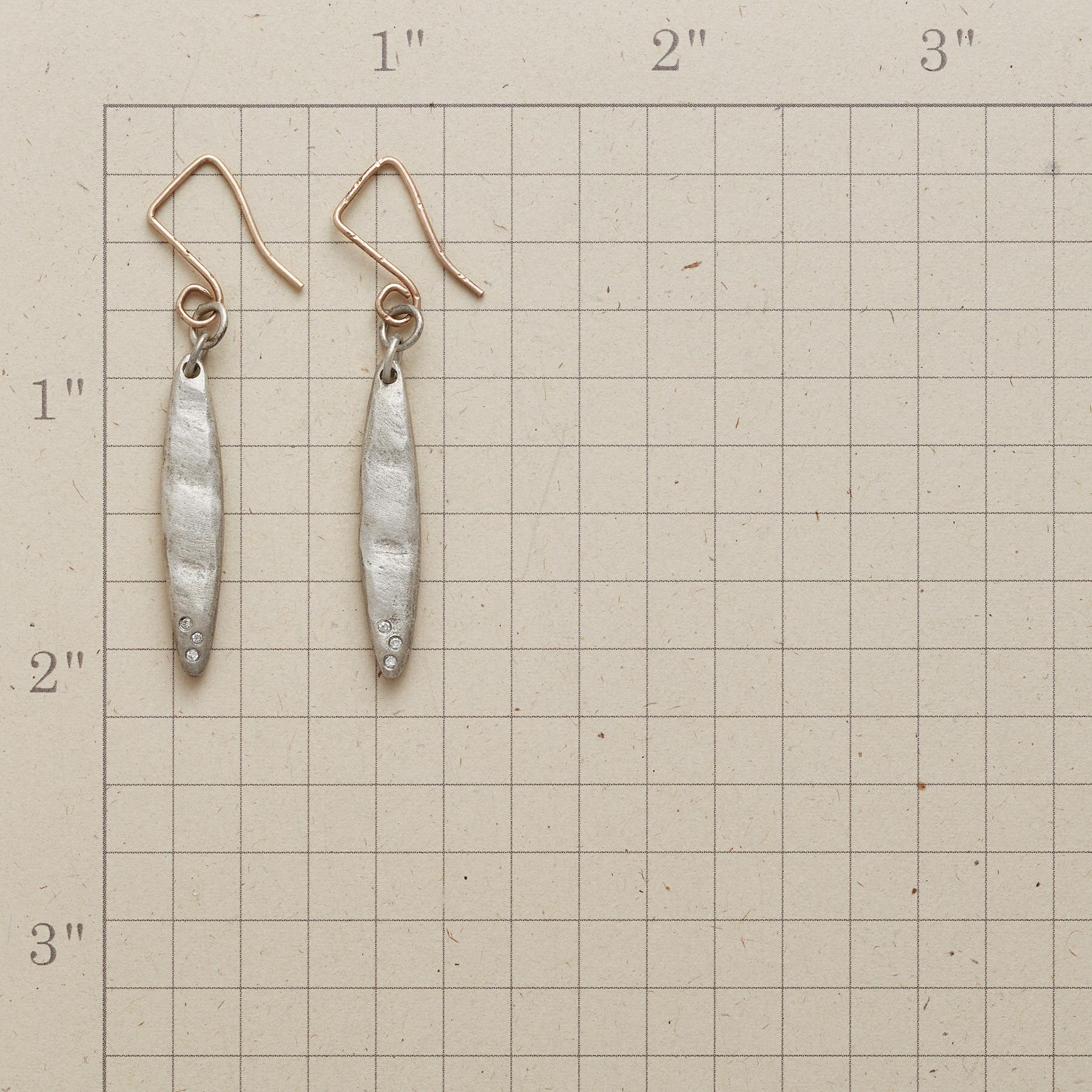 ELLIPSIS DIAMOND EARRINGS: View 2