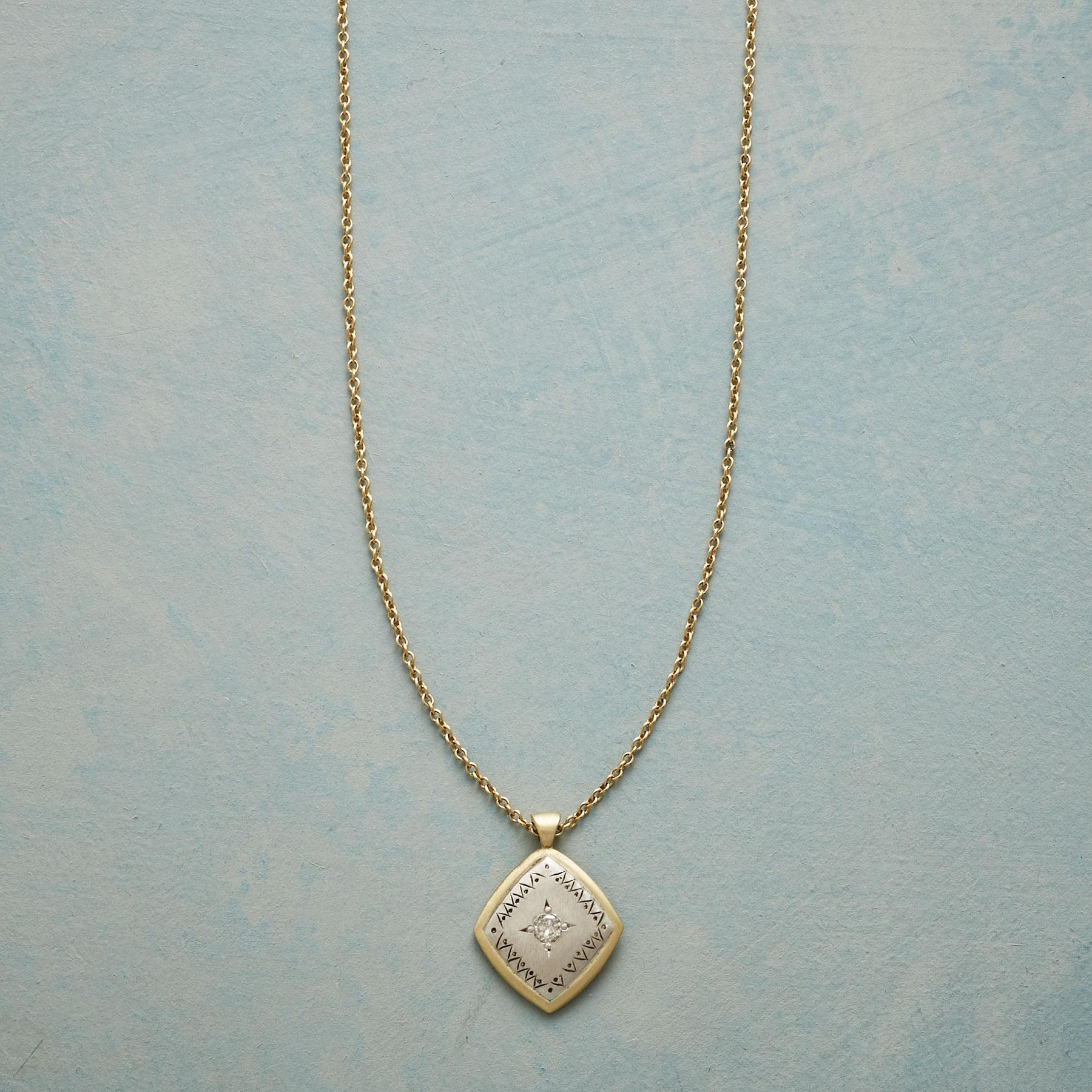 ACE OF DIAMONDS NECKLACE: View 1