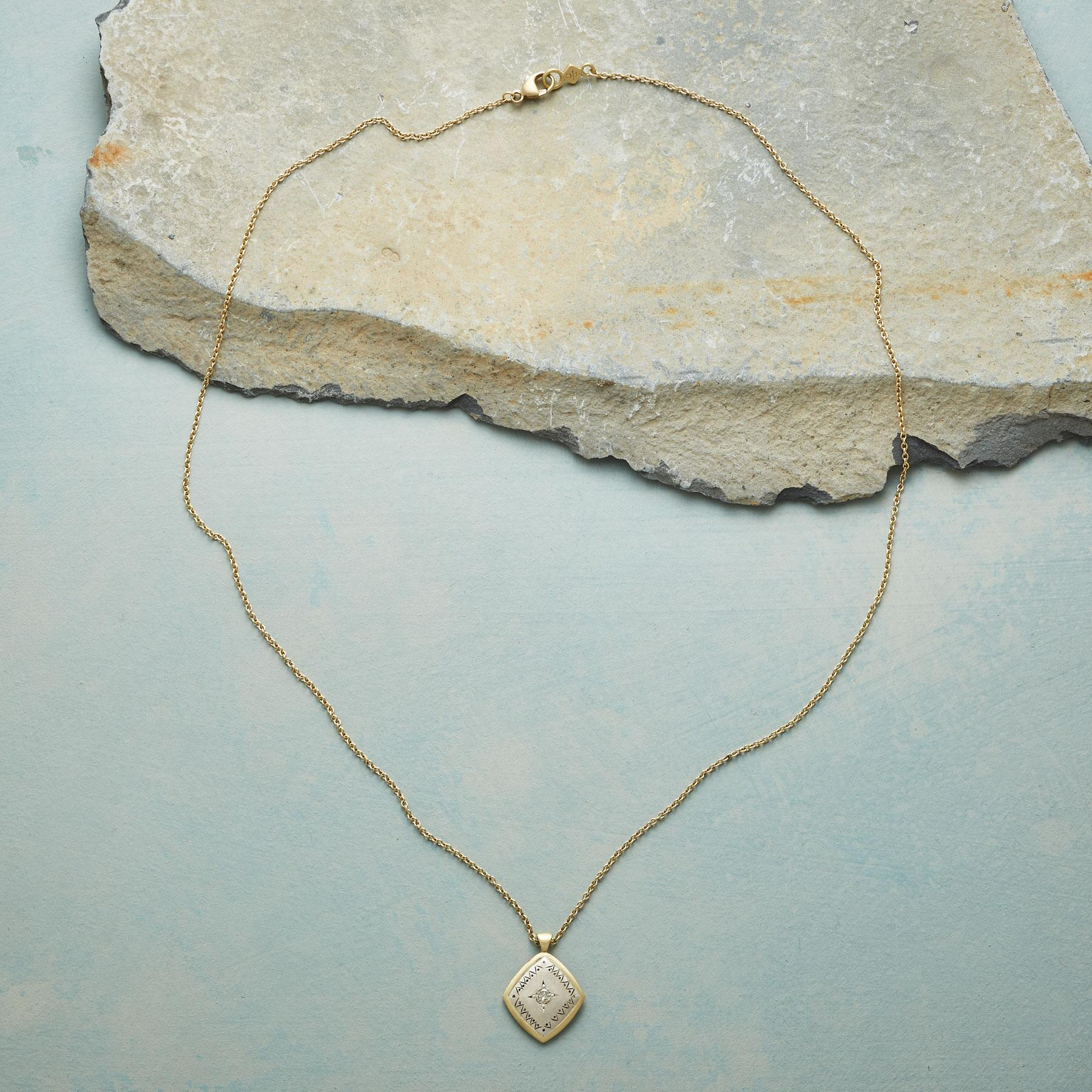 ACE OF DIAMONDS NECKLACE: View 2