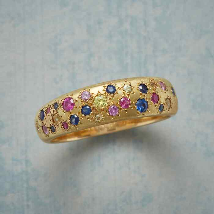 COLOR MY WORLD SAPPHIRE BAND