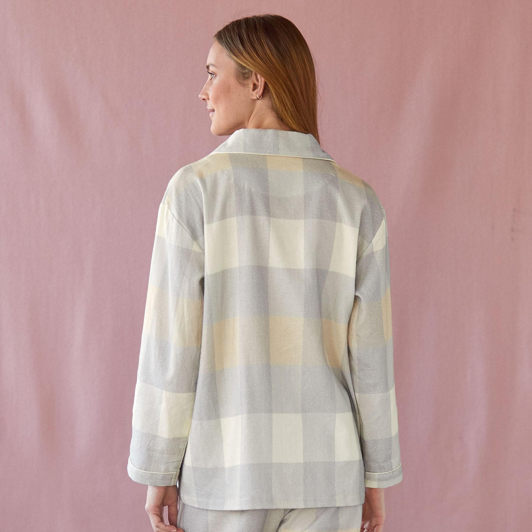 ROCKPORT FLANNEL TOP: View 2