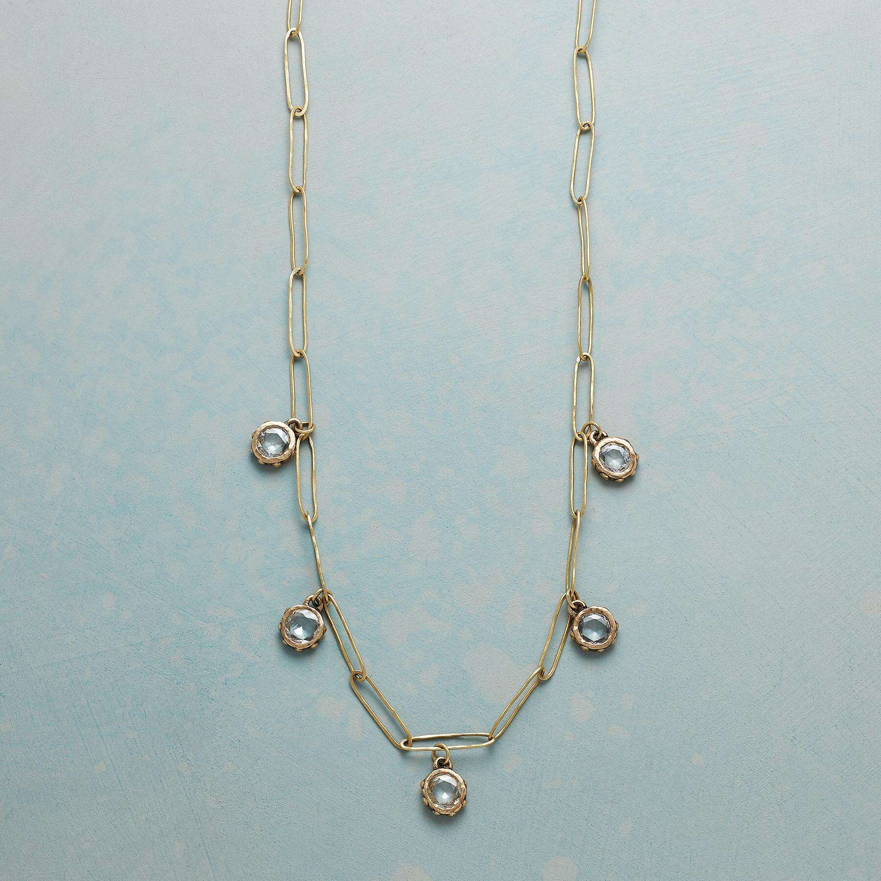STARLIGHT SAPPHIRE NECKLACE: View 1