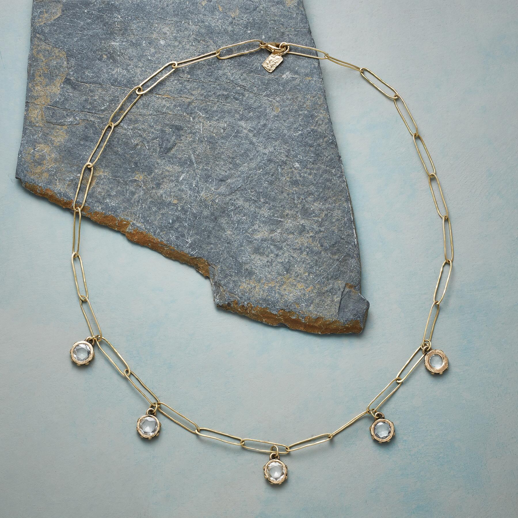 STARLIGHT SAPPHIRE NECKLACE: View 2