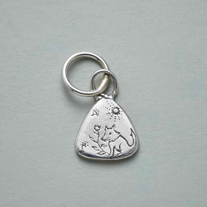 STERLING SILVER DOG FRIEND CHARM