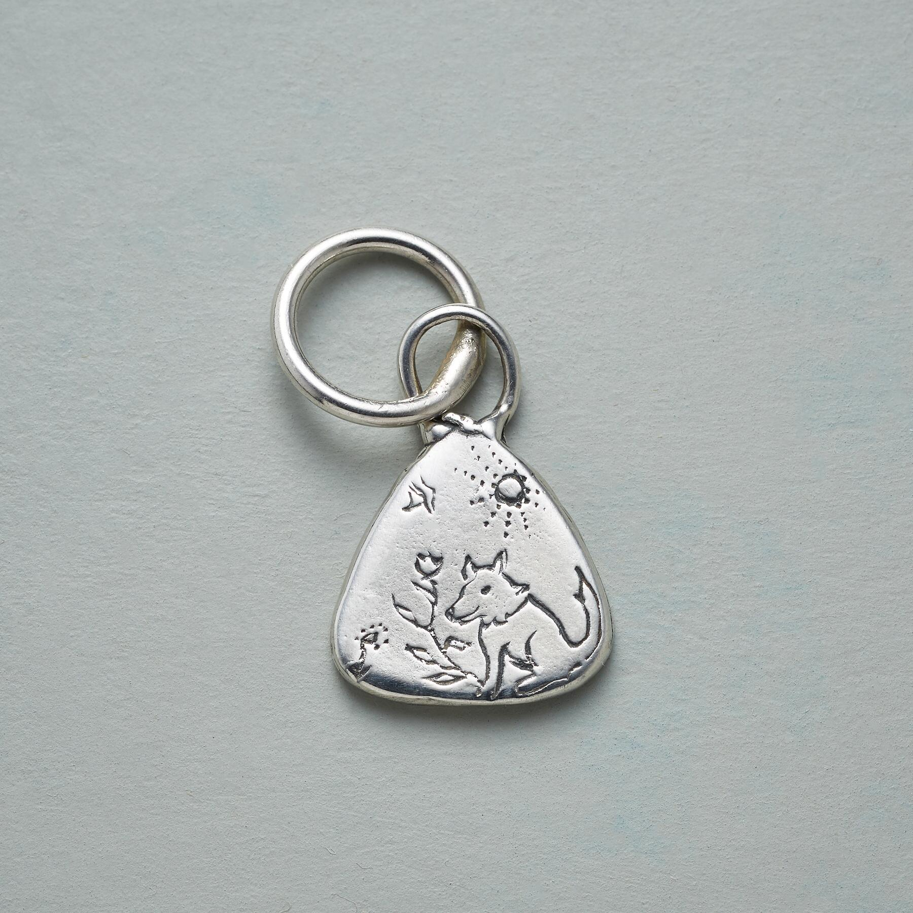 STERLING SILVER DOG FRIEND CHARM: View 1