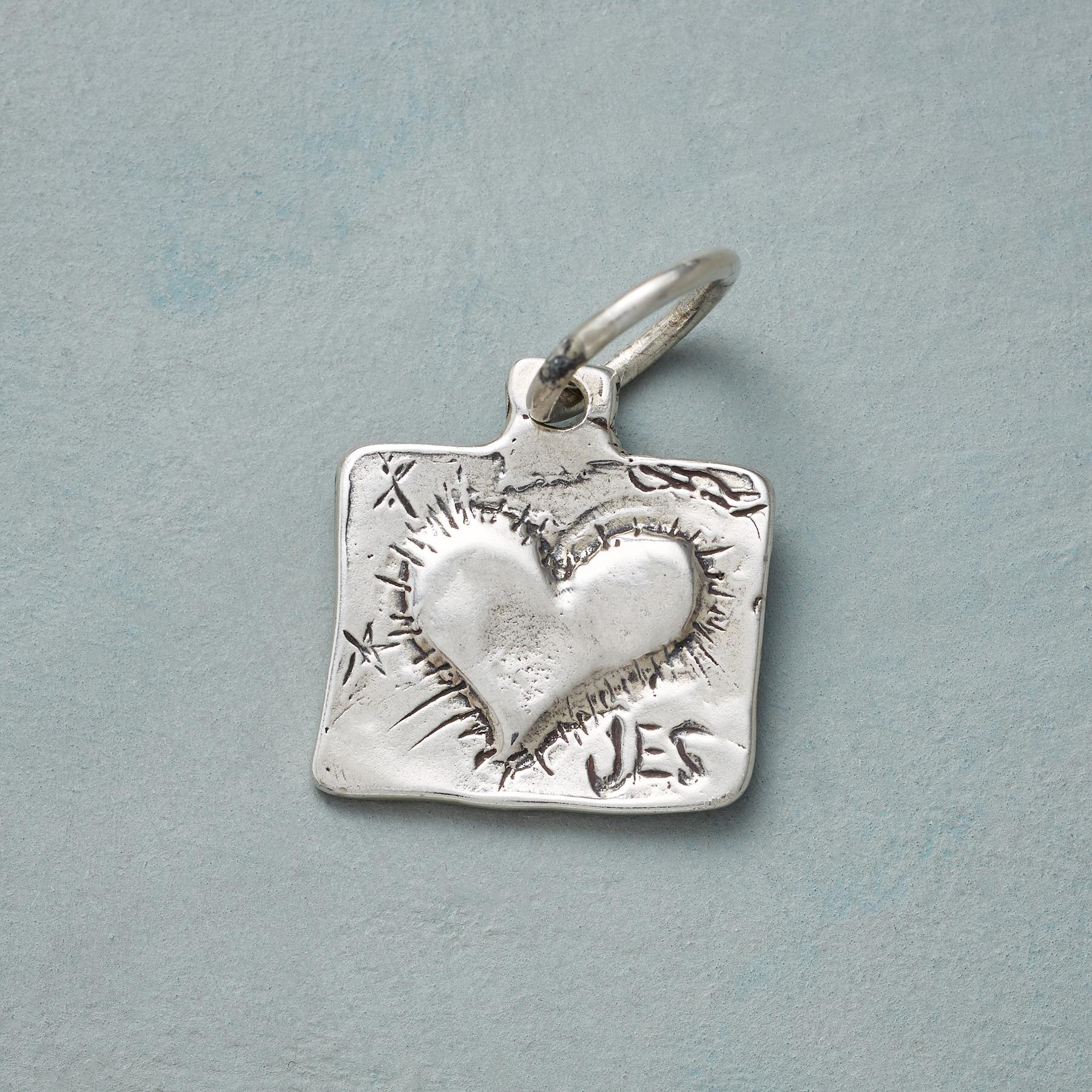 ANGEL OF MERCY SILVER CHARM: View 2