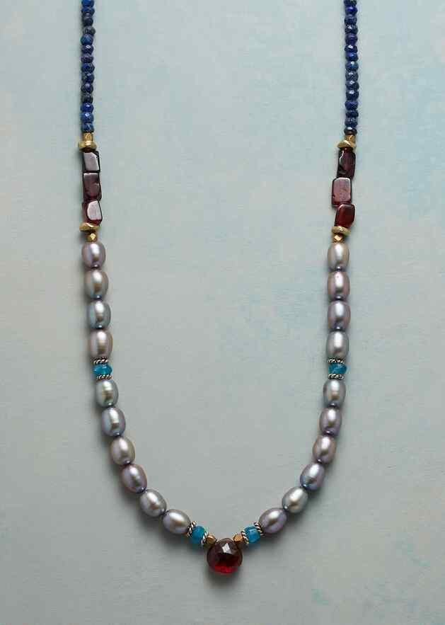 MARGUERITE PEARL NECKLACE