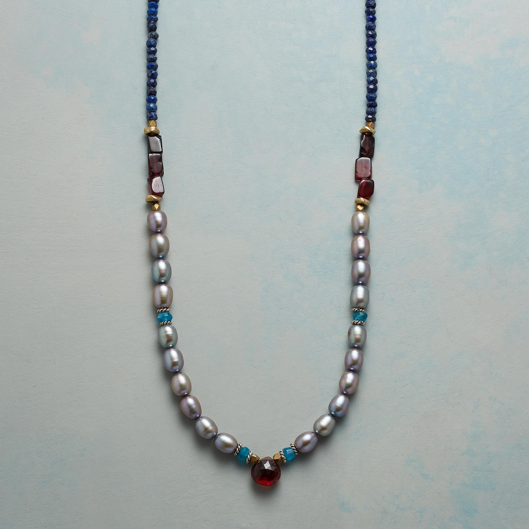 MARGUERITE PEARL NECKLACE: View 1
