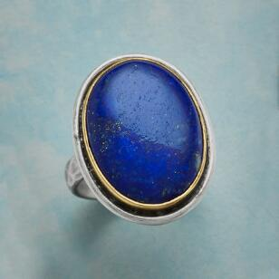 LARGER THAN LAPIS RING