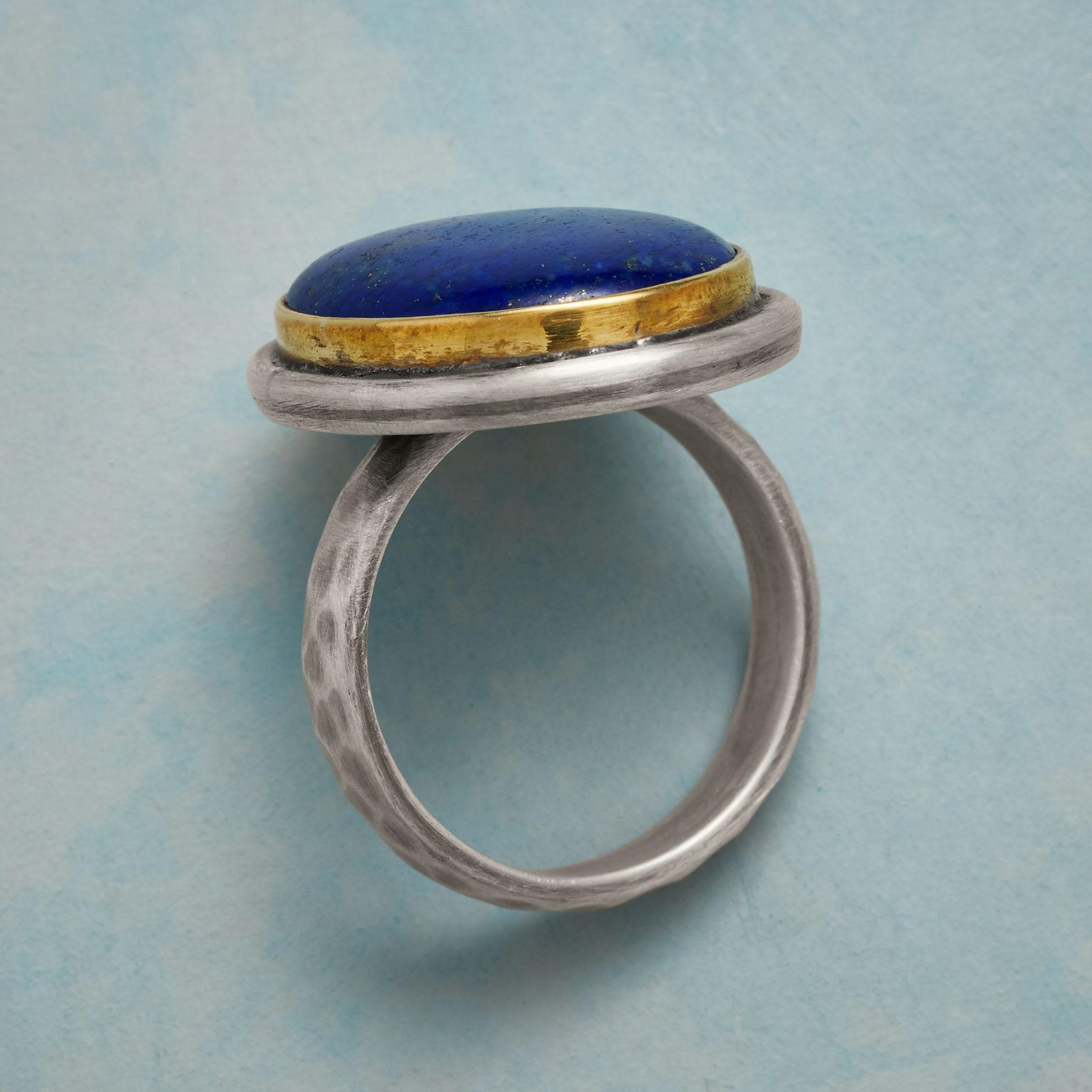 LARGER THAN LAPIS RING: View 2