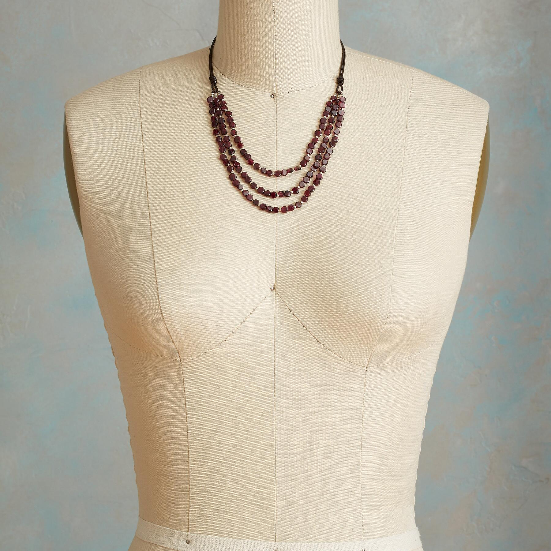 GARNET EMBERS NECKLACE: View 4