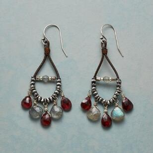 FIRE & ICE CHANDELIER EARRINGS