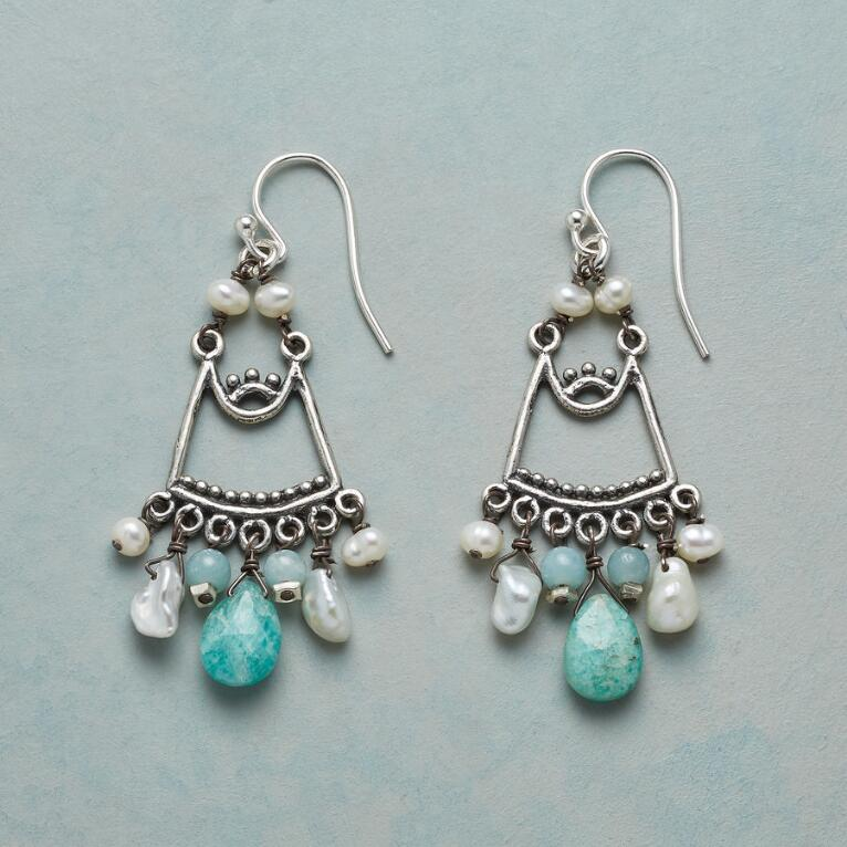 AMAZONITE BREEZE EARRINGS