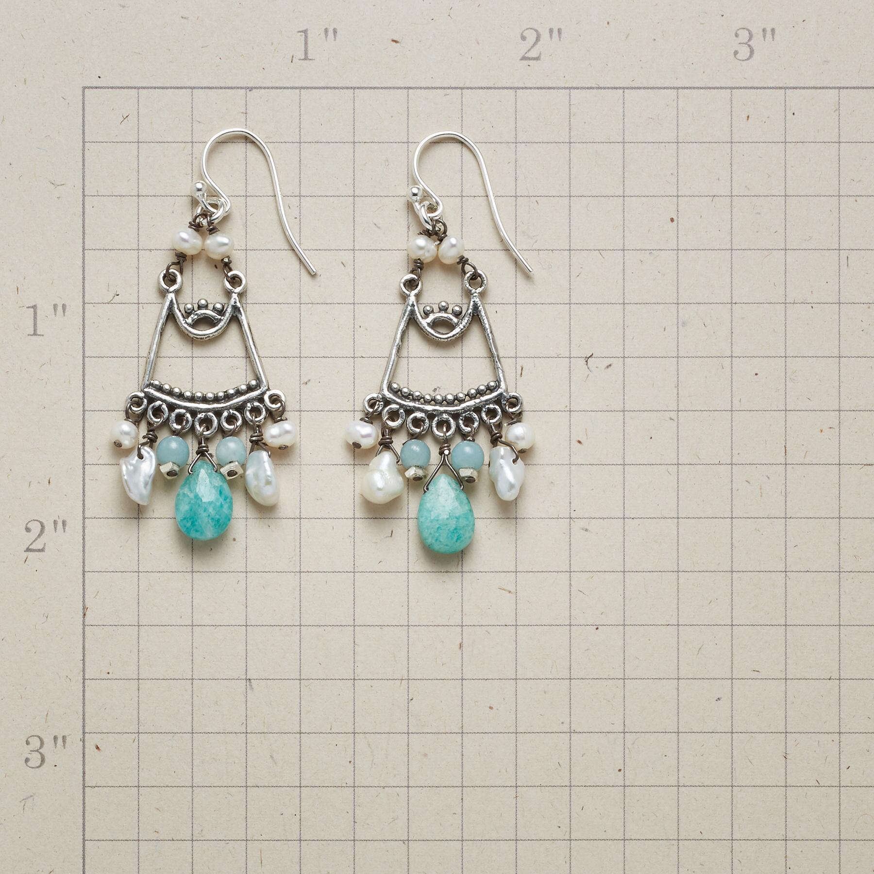 AMAZONITE BREEZE EARRINGS: View 2