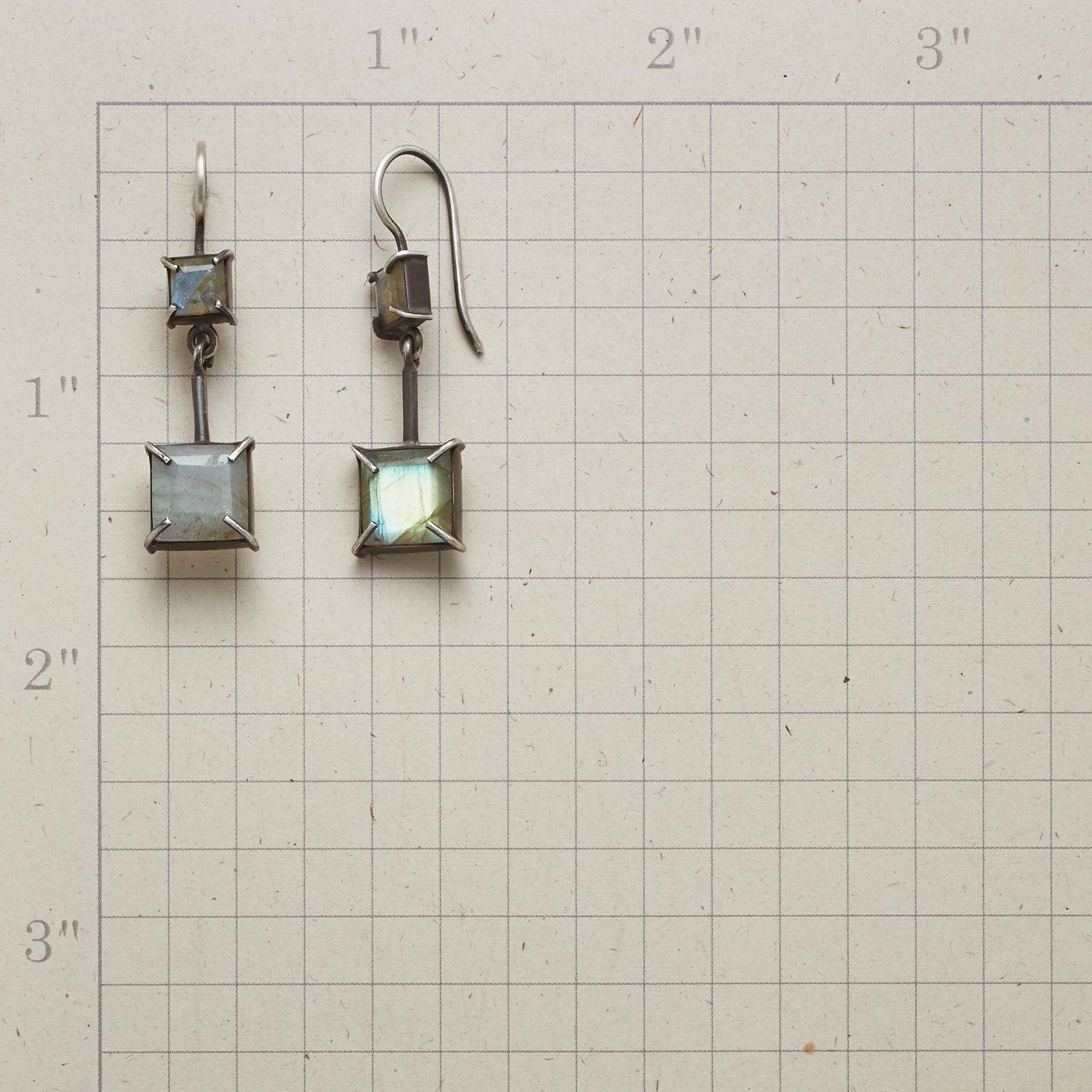 TO SCALE EARRINGS: View 2