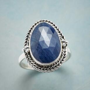 SAPPHIRE HOMAGE RING