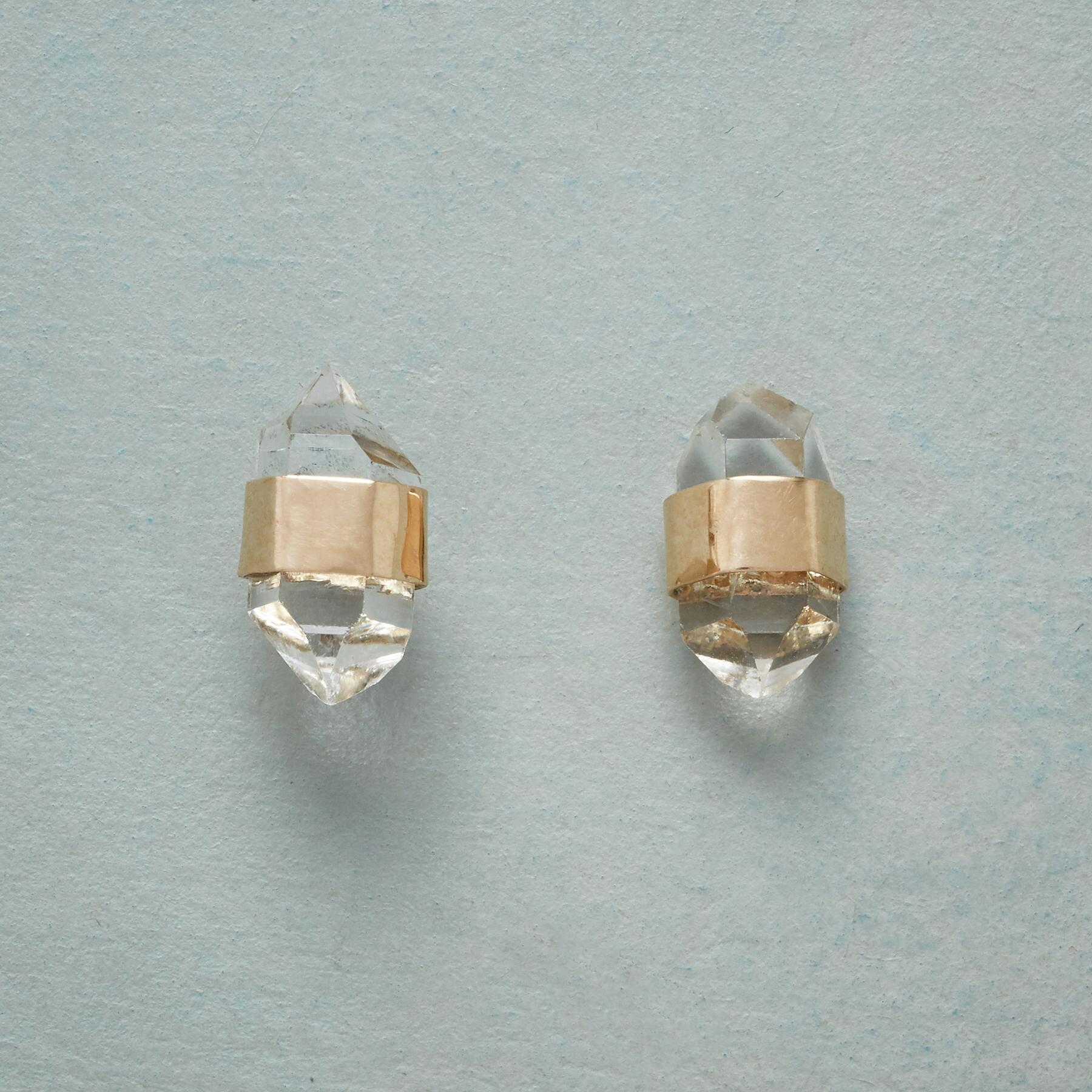 TWO THE POINT EARRINGS: View 1