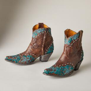 ERIN EMBROIDERY BOOTS