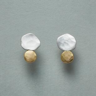 PEBBLED POST EARRINGS