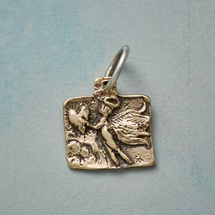 ANGEL OF MERCY GOLD CHARM