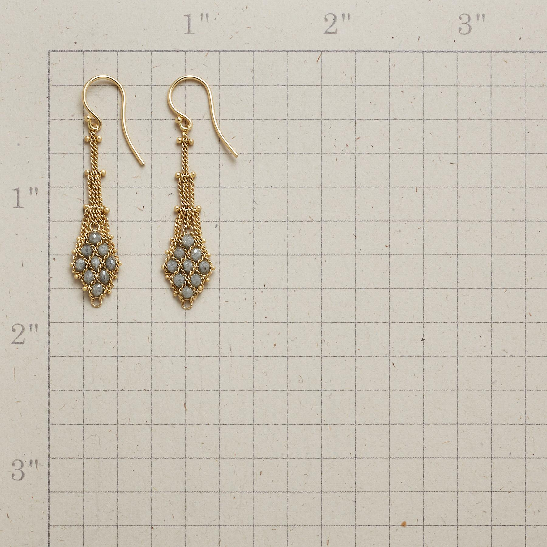 ARIA DIAMOND EARRINGS: View 2