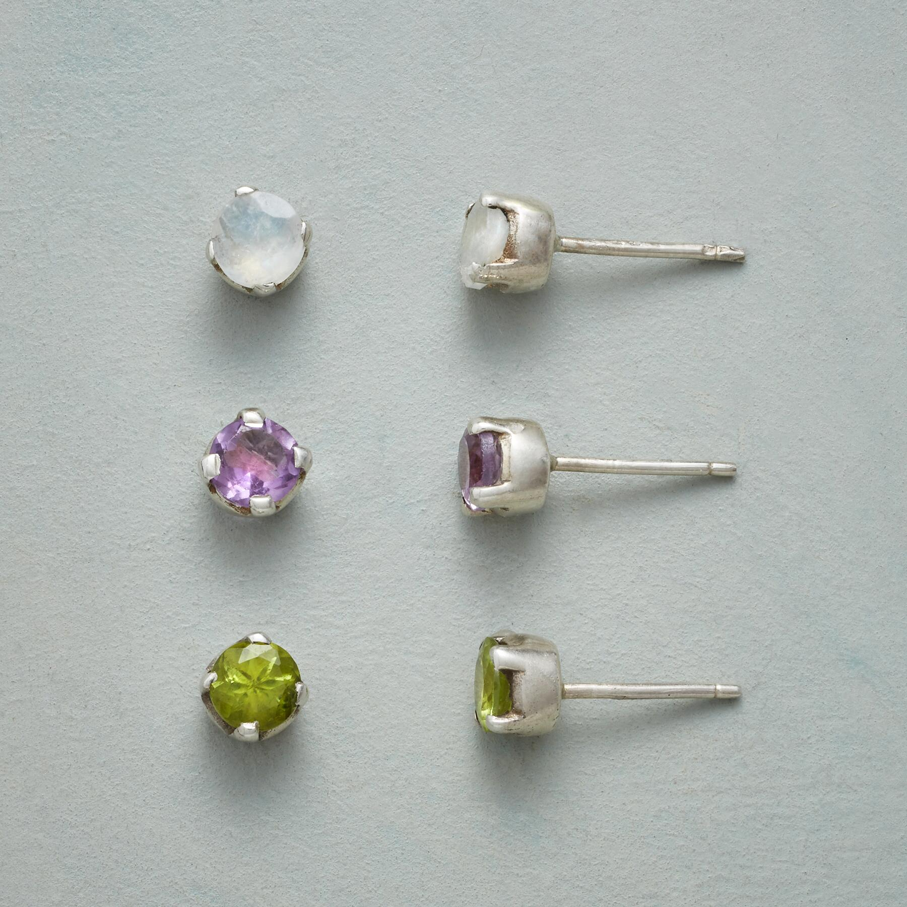 PARCEL POST EARRING TRIO: View 1
