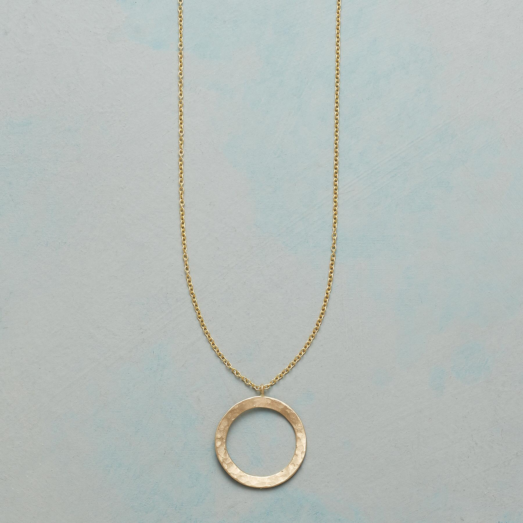 CIRCLE OF LOVE NECKLACE: View 1