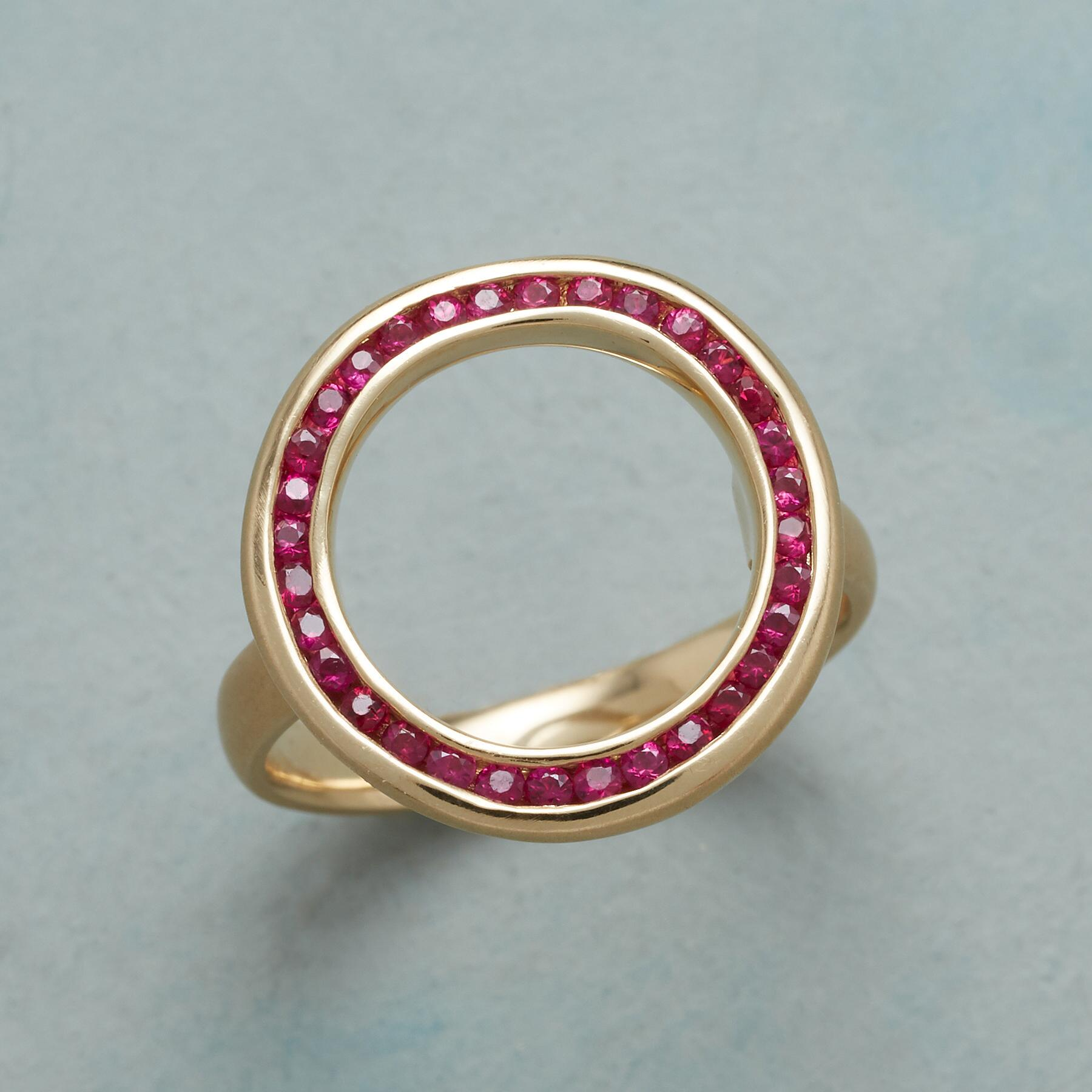 CIRCLE THE RUBIES RING: View 1